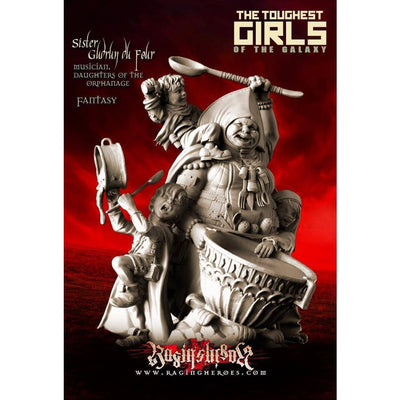 Daughters of the Orphanage Pack - All 10 Stars Command AND Troops (Sisters - FANTASY) - Raging Heroes