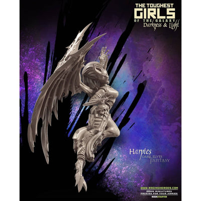 Harpies - Command Group (DE - F) - Raging Heroes