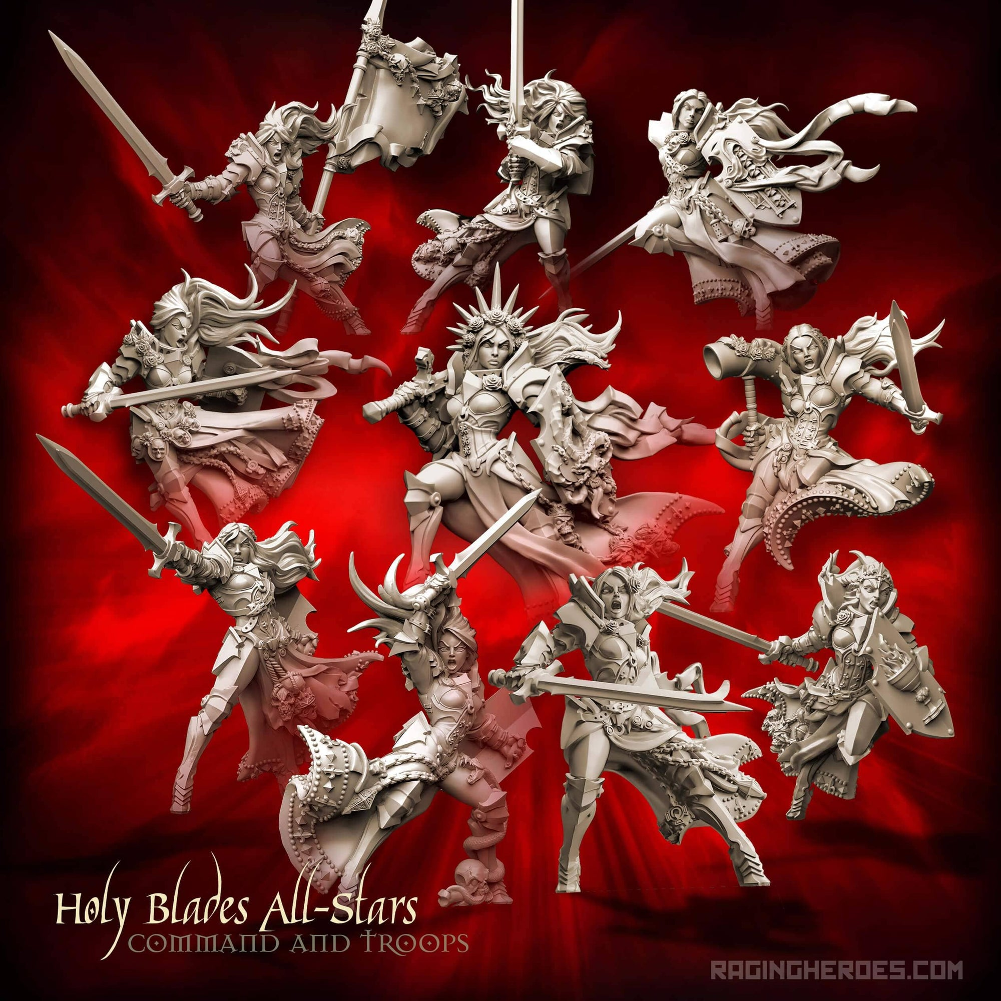Holy Blades All-Stars - ALL 10! (SotO - F) - Raging Heroes