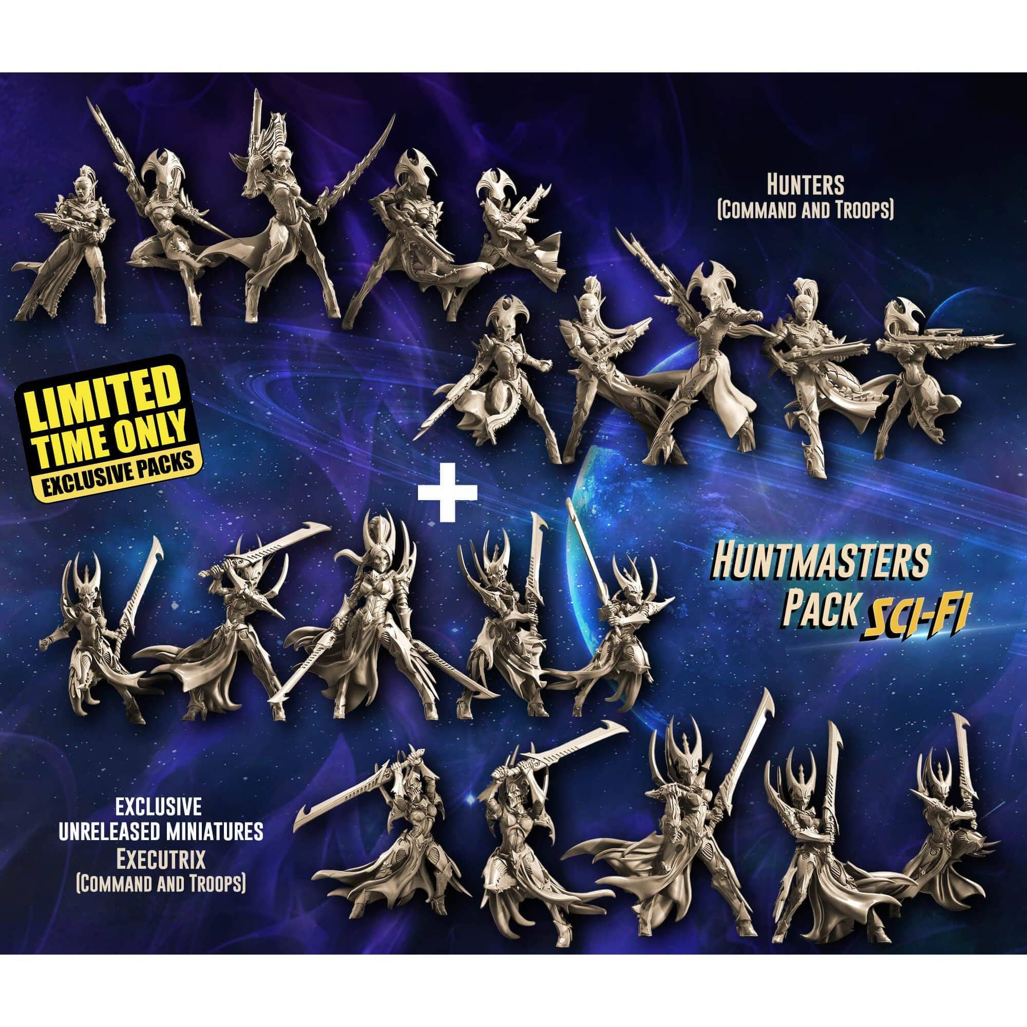 EXCLUSIVE Huntmasters Pack (VE - SF) - Raging Heroes