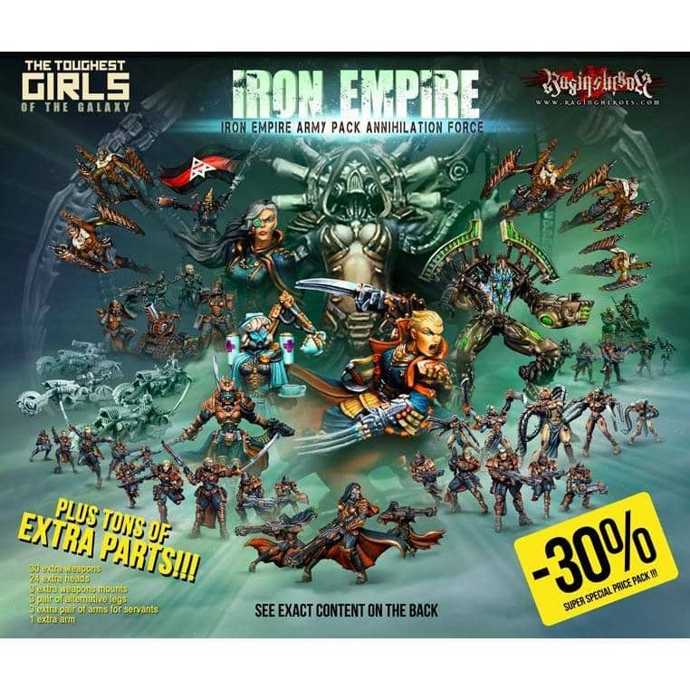 IE Army Pack ANNIHILATION Force (IE) - Raging Heroes