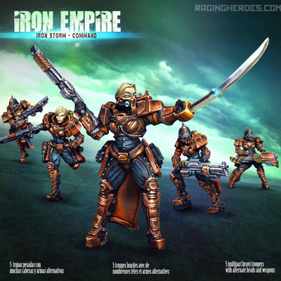 IE - Iron Storm - Command - Raging Heroes