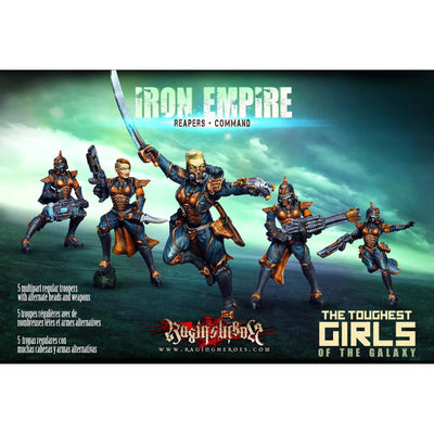 Iron Empire - Reapers - Command - Raging Heroes