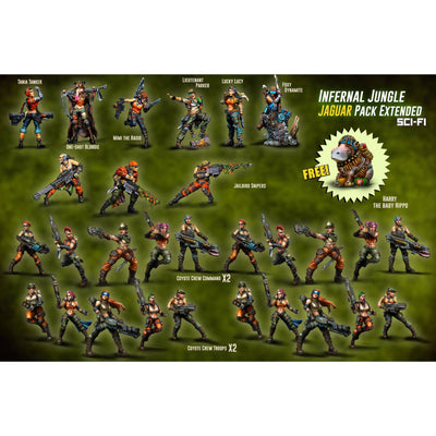 Infernal Jungle Jaguar Pack EXTENDED (JB) - Raging Heroes