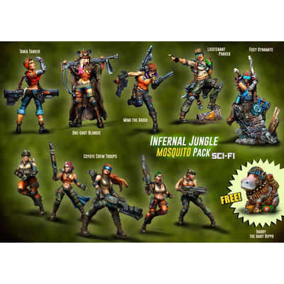 Infernal Jungle MOSQUITO Pack (JB)