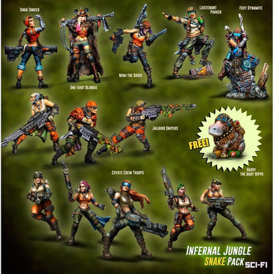 Infernal Jungle SNAKE Pack (JB)