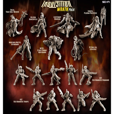 Inquisition WRATH Pack (Mixed - SF)