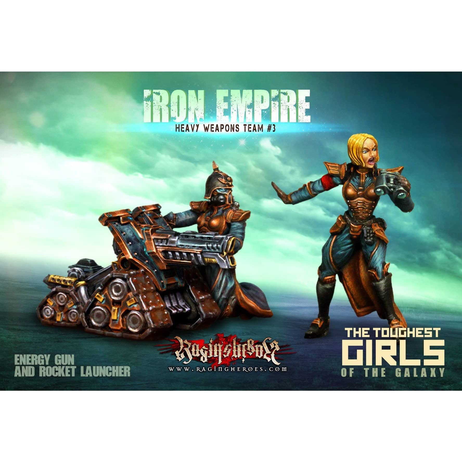 Iron Empire Heavy Weapons Team #03 (IE) - Raging Heroes