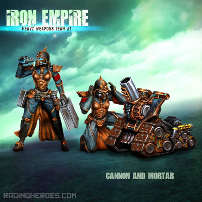 Iron Empire Heavy Weapons Team #01 (IE) - Raging Heroes