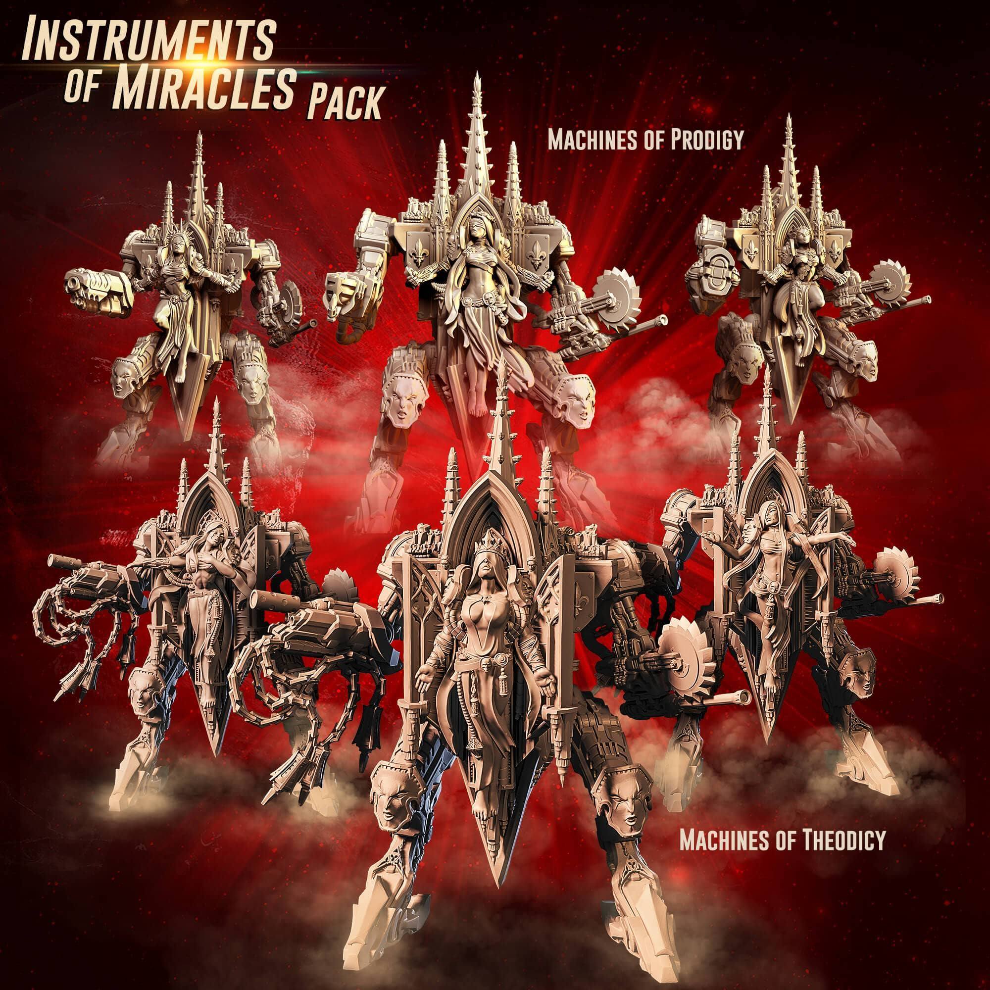 Instruments of Miracles Pack (SoEM - SF) - Raging Heroes