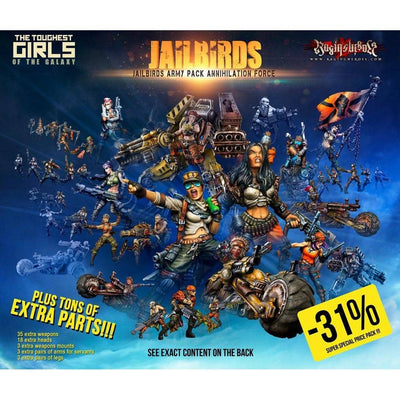 Jailbirds Army Pack ANNIHILATION Force (JB) - Raging Heroes