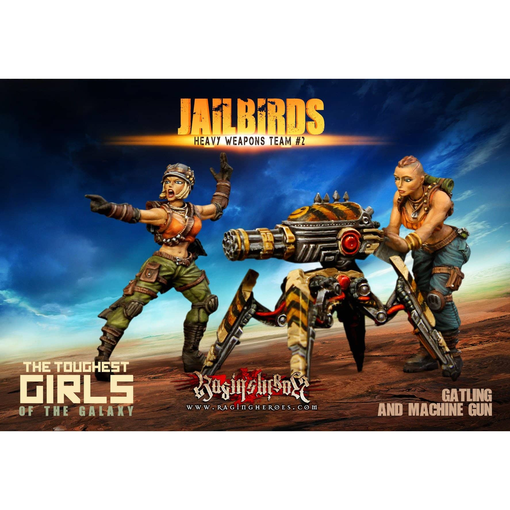 Jailbirds Heavy Weapons Team #02 (JB) - Raging Heroes