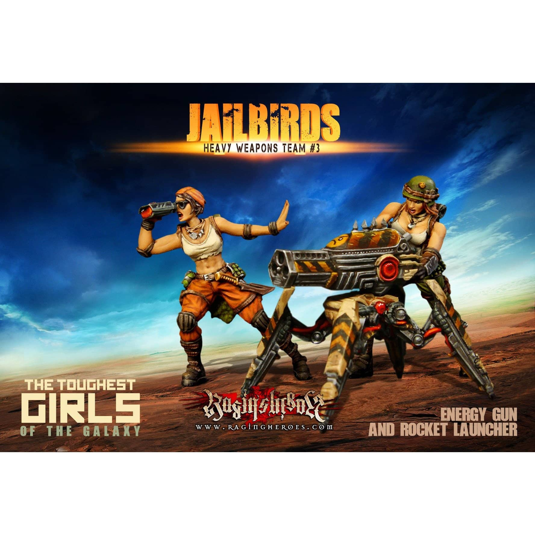 Jailbirds Heavy Weapons Team #03 (JB) - Raging Heroes
