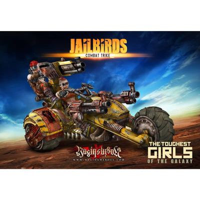 Daughters of Anarchy RAID Pack (JB - SF) - Raging Heroes