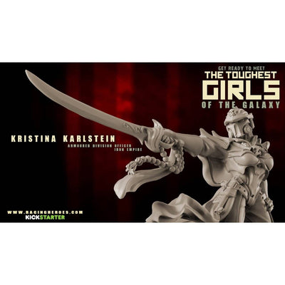Kristina Karlstein, Armoured Division Officer (IE) - Raging Heroes