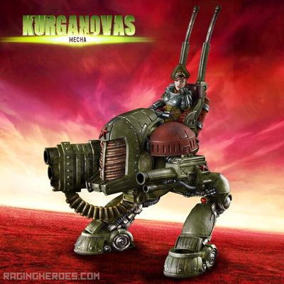 KST Mecha - Raging Heroes