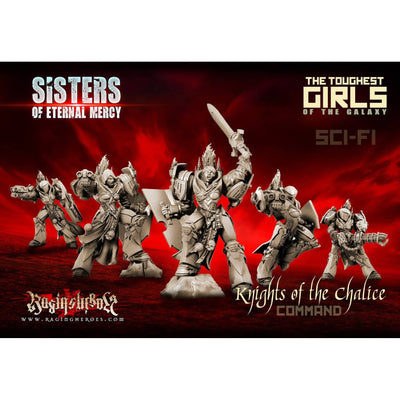 Knights of the Chalice - Command Group (SoEM - SF) - Raging Heroes