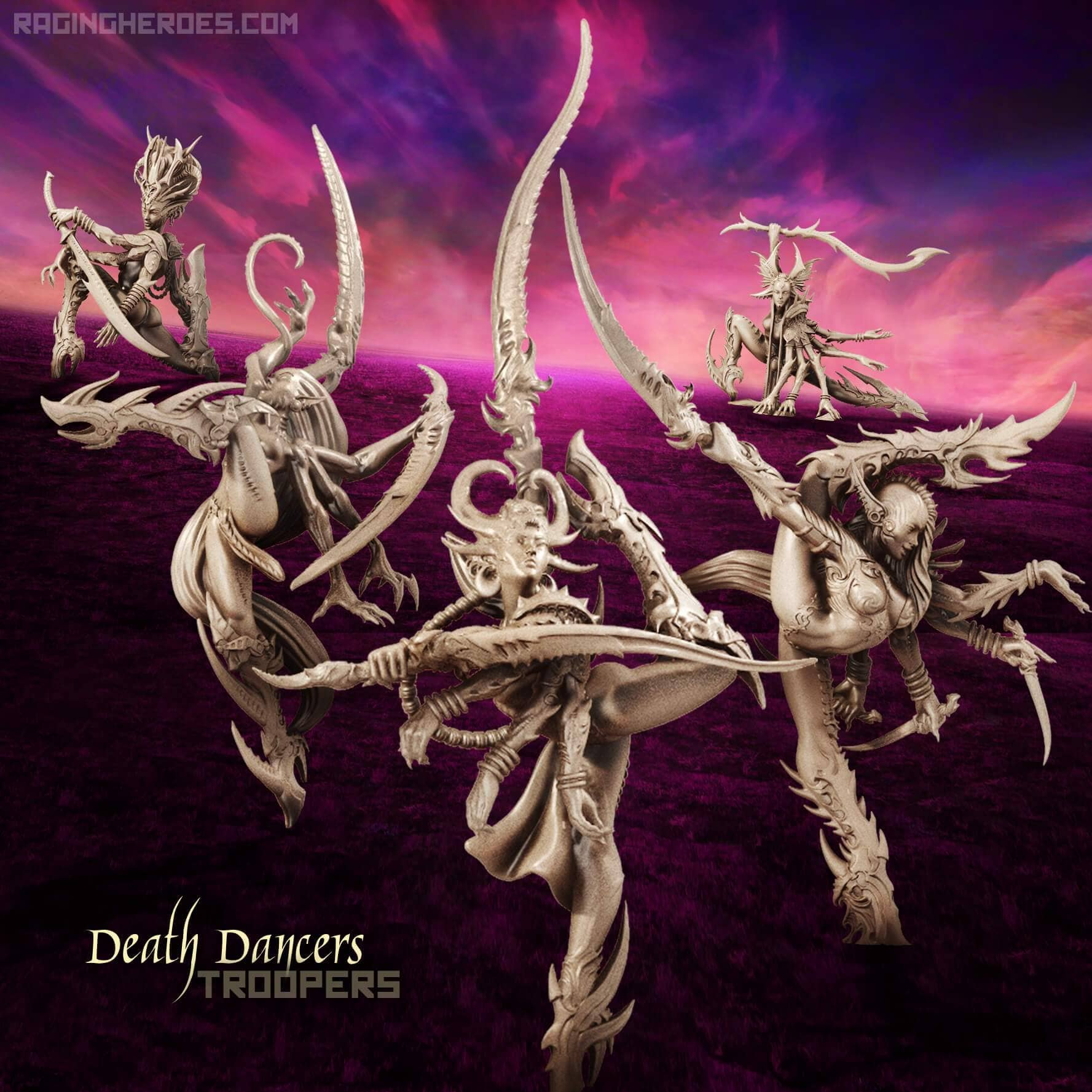 Death Dancers All Stars - TROOPS (LE - F/SF) - Raging Heroes