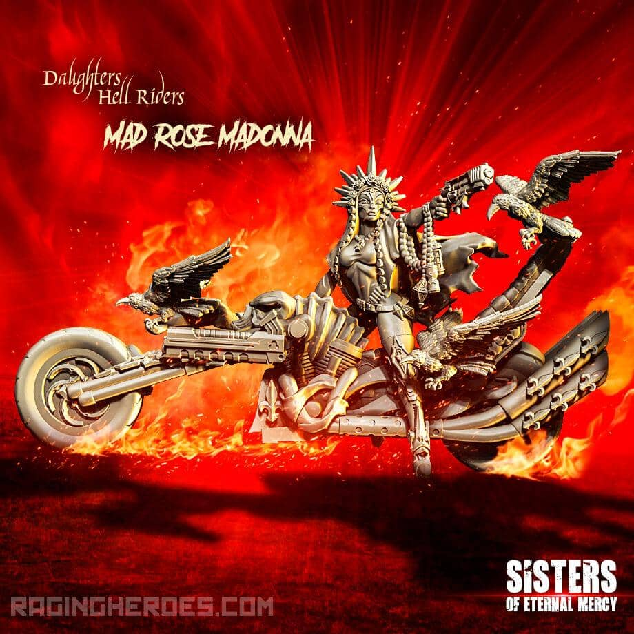 Mad Rose Madonna, Hell Rider Daughter (SoEM - SF) - Raging Heroes