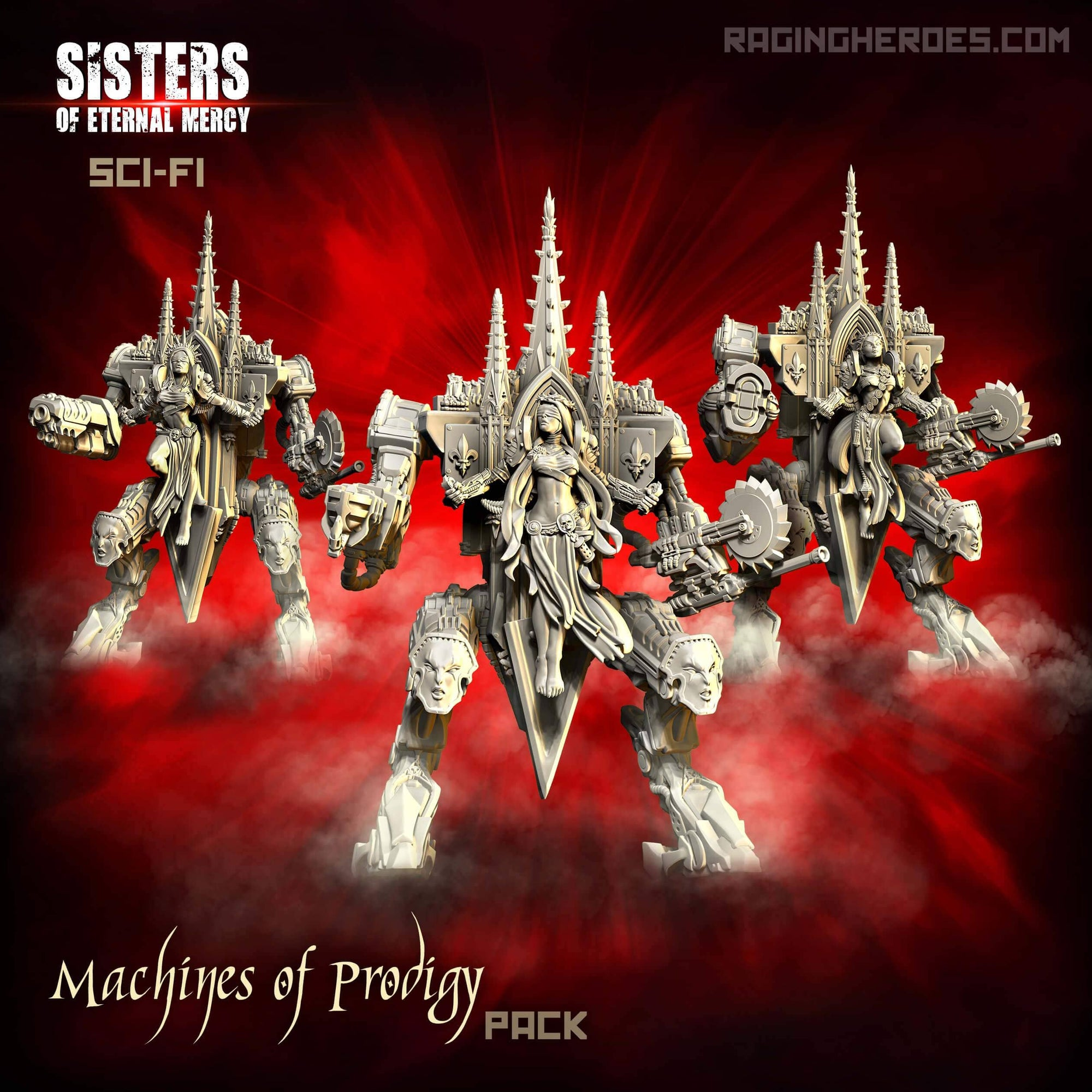 Machines of Prodigy Pack (SoEM - SF) - Raging Heroes