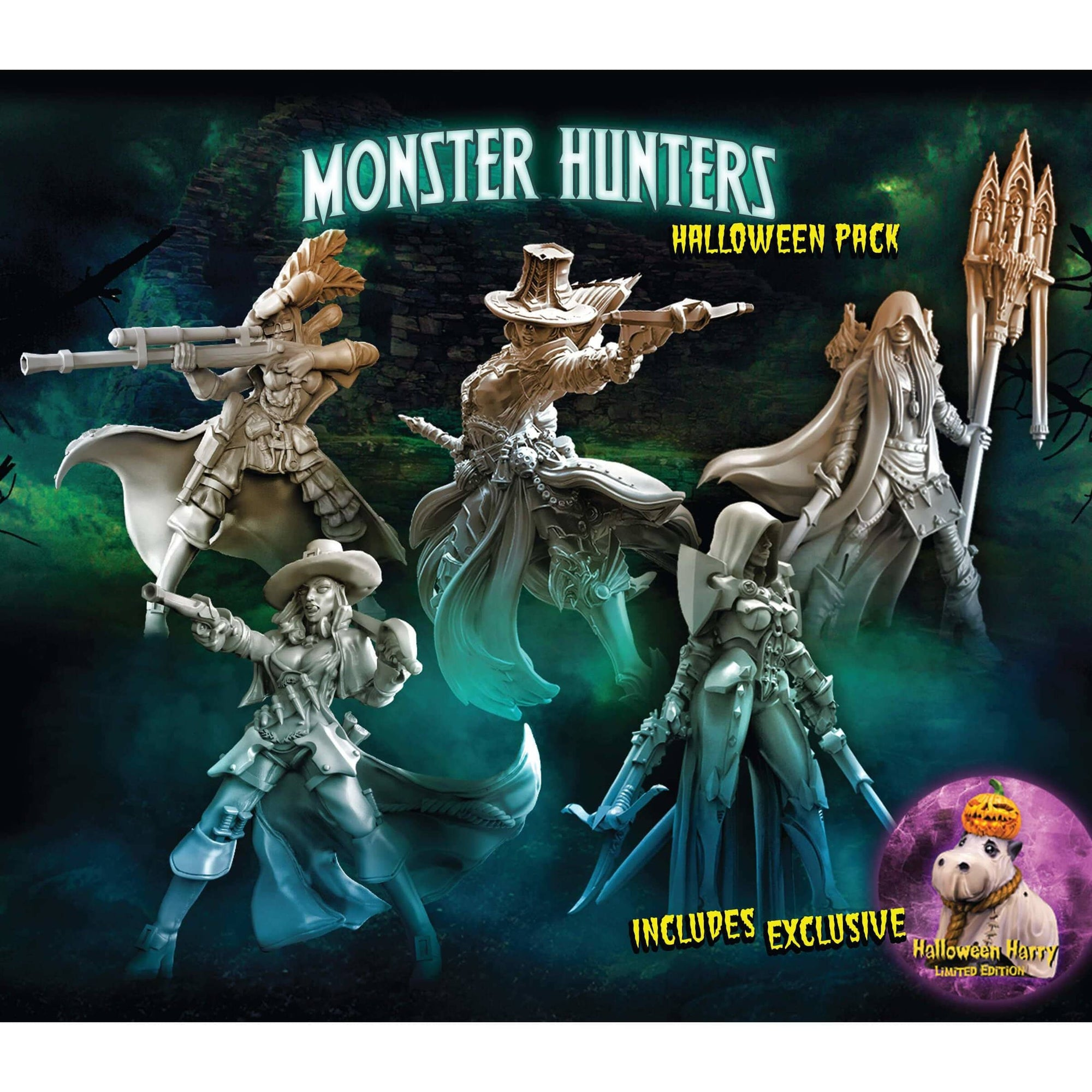 Monster Hunters 1 - Halloween 2017 - Raging Heroes