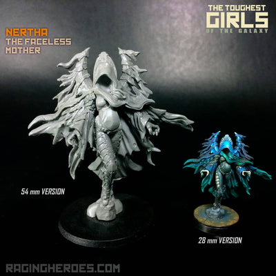 Nertha, the Faceless Mother (IE) Heroic 54mm Scale - Raging Heroes