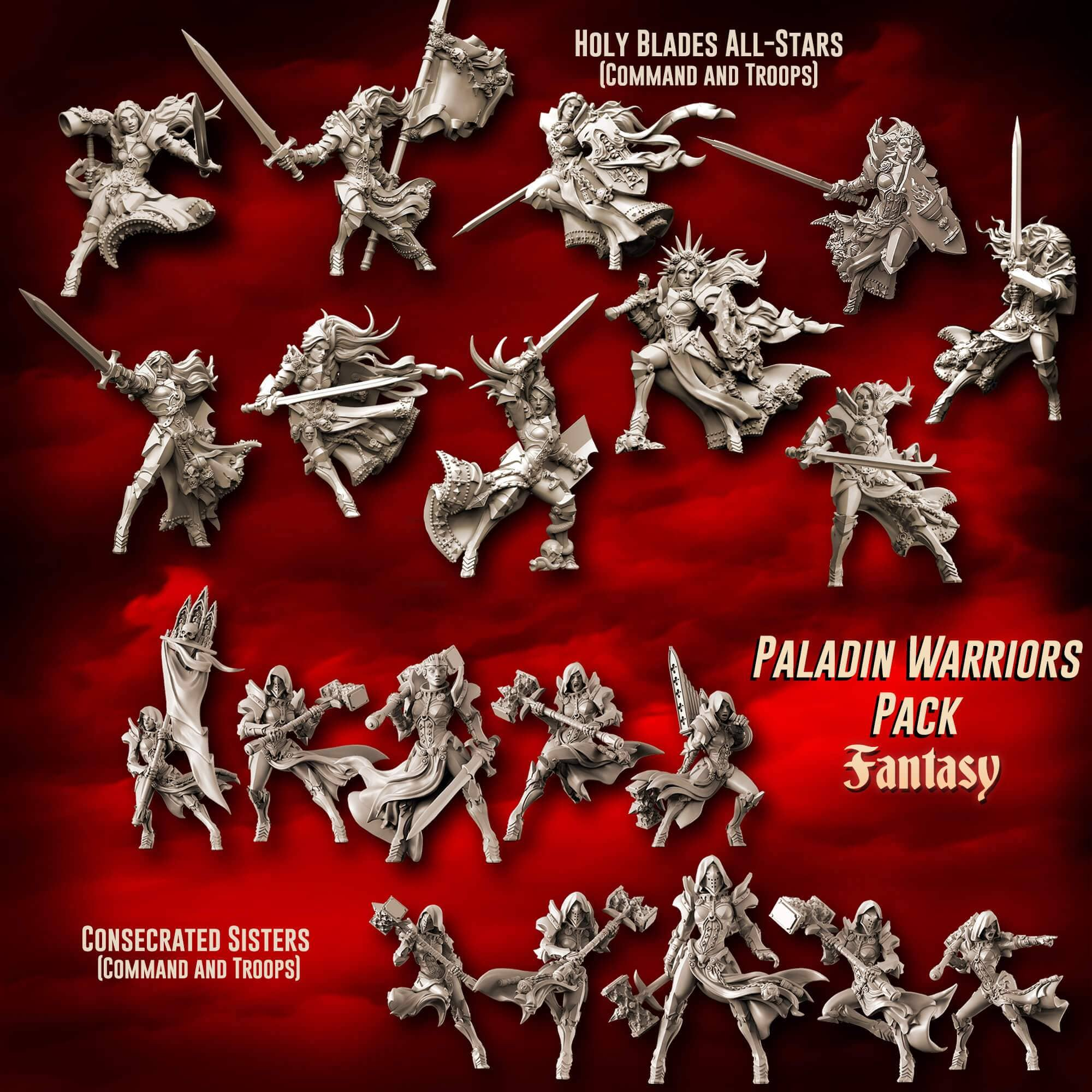 Paladin Warriors Pack (SotO - F)