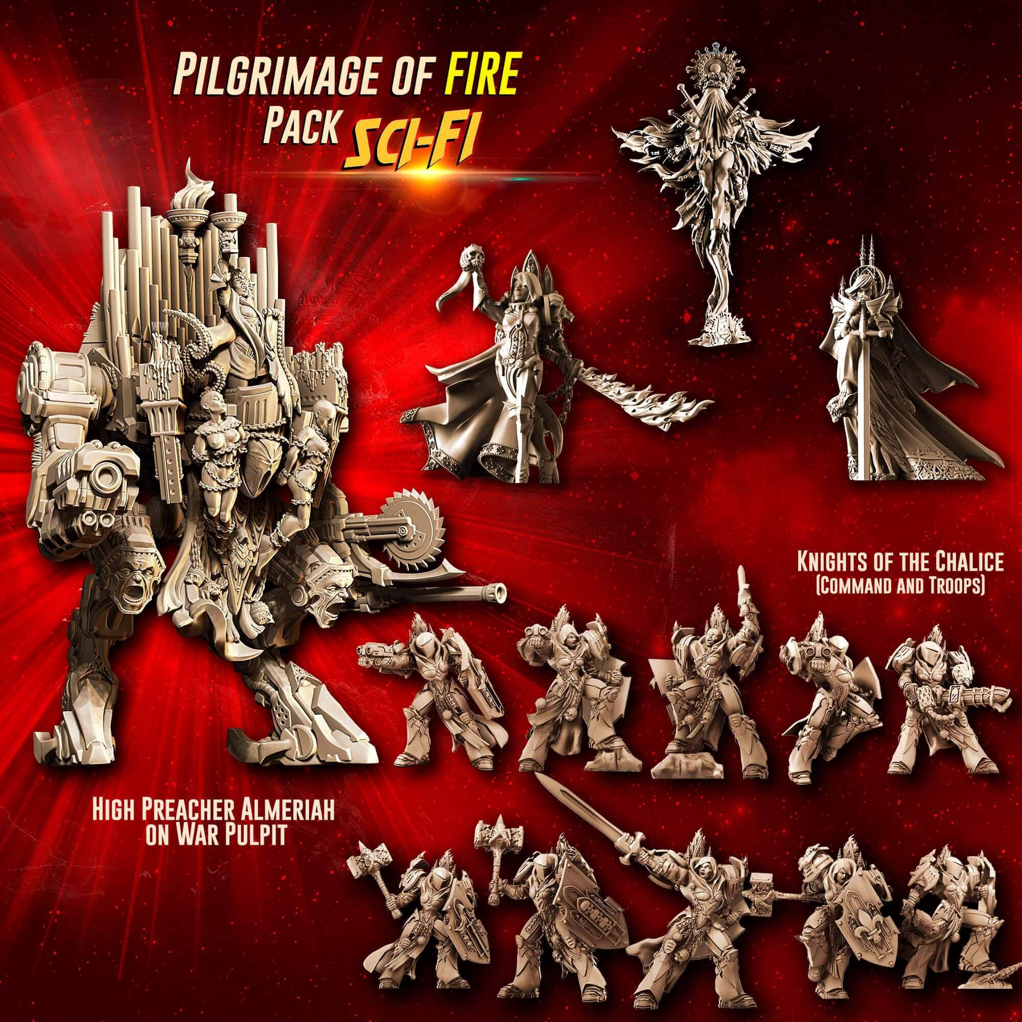 Pilgrimage of FIRE Pack feat. Almeriah (SoEM - SF) - Raging Heroes