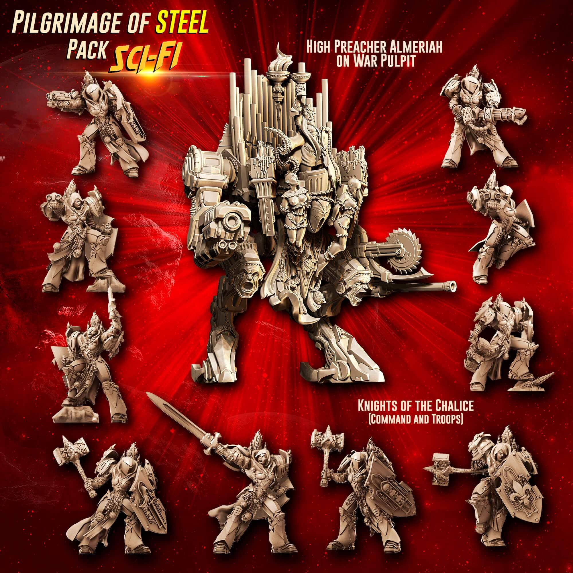Pilgrimage of STEEL Pack feat. Almeriah (SoEM - SF) - Raging Heroes