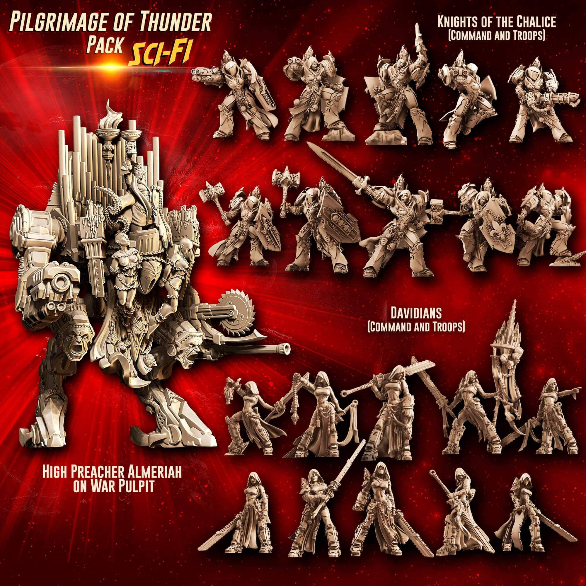 Pilgrimage of THUNDER Pack feat. Almeriah (SoEM - SF) - Raging Heroes