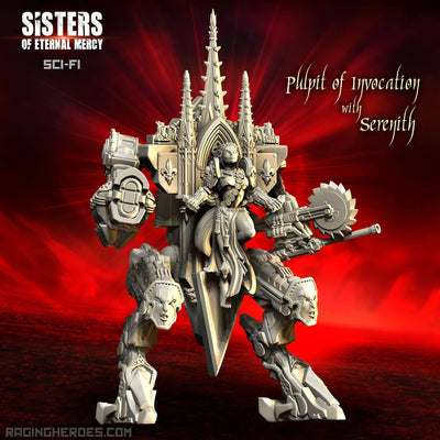 Serenith on the Pulpit of Invocation (SoEM - SF) - Raging Heroes
