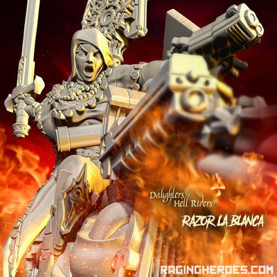 Razor La Blanca, Hell Rider Daughter (SoEM - SF) - Raging Heroes