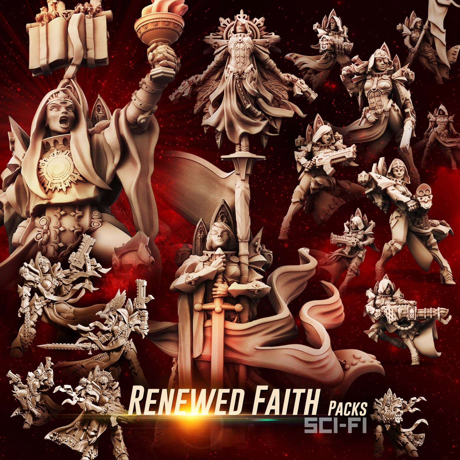 Renewed FAITH Packs (SoEM - SF) - Raging Heroes