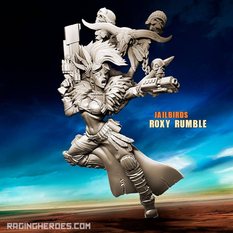 Roxy Rumble (JB - SF) - Raging Heroes