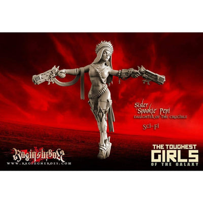 Daughters of the Crucible - All Stars Command Group (Sisters - SF) - Raging Heroes