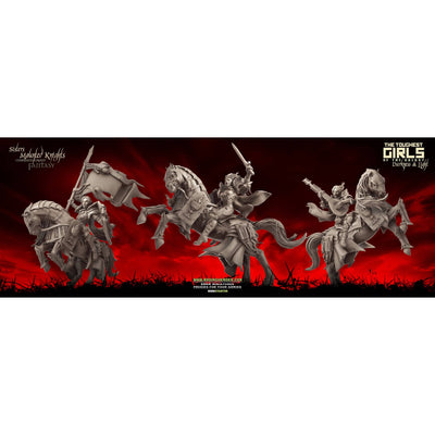 Mounted Knights Pack (SotO - F) - Raging Heroes