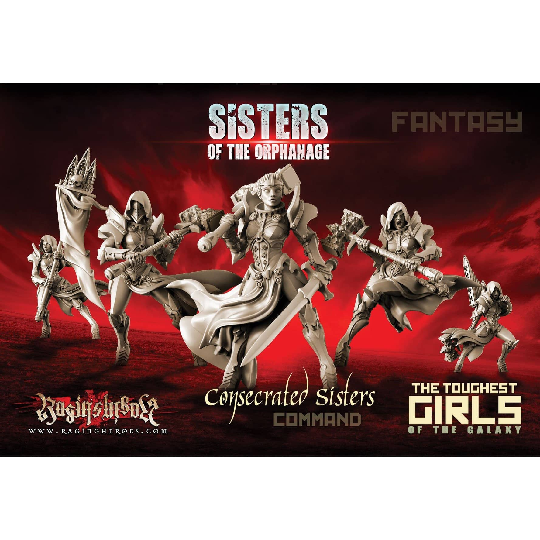 Consecrated Sisters - COMMAND Group (SotO - F) - Raging Heroes