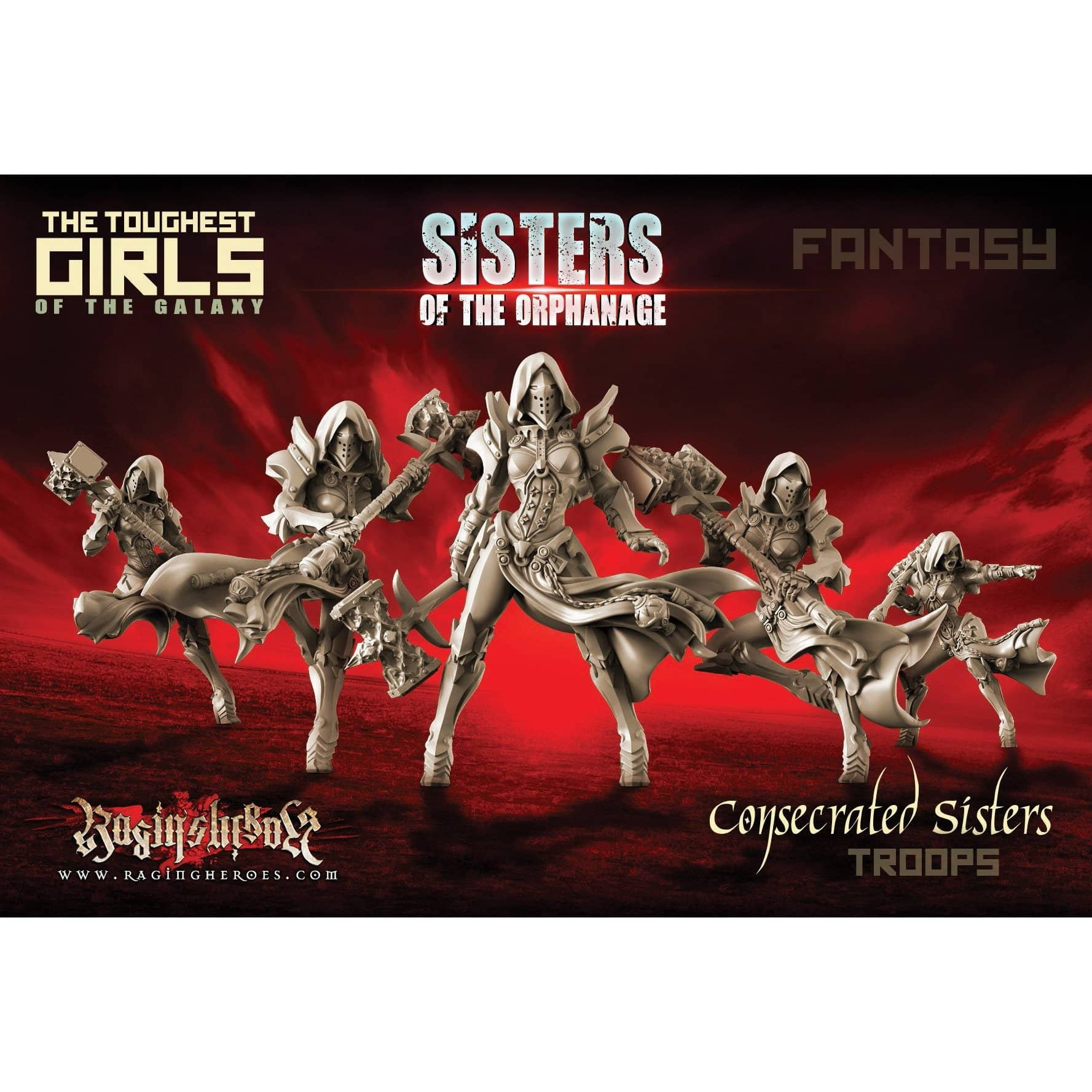 Consecrated Sisters - TROOPS (SotO - F) - Raging Heroes