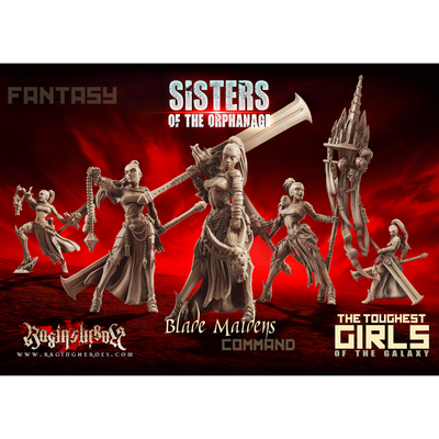 Blade Maidens - Command Group (SotO - F) - Raging Heroes