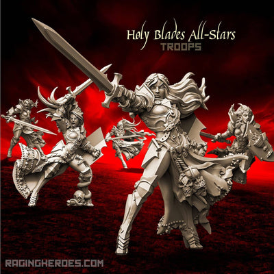 Holy Blades All-Stars - TROOPS (SotO - F) - Raging Heroes