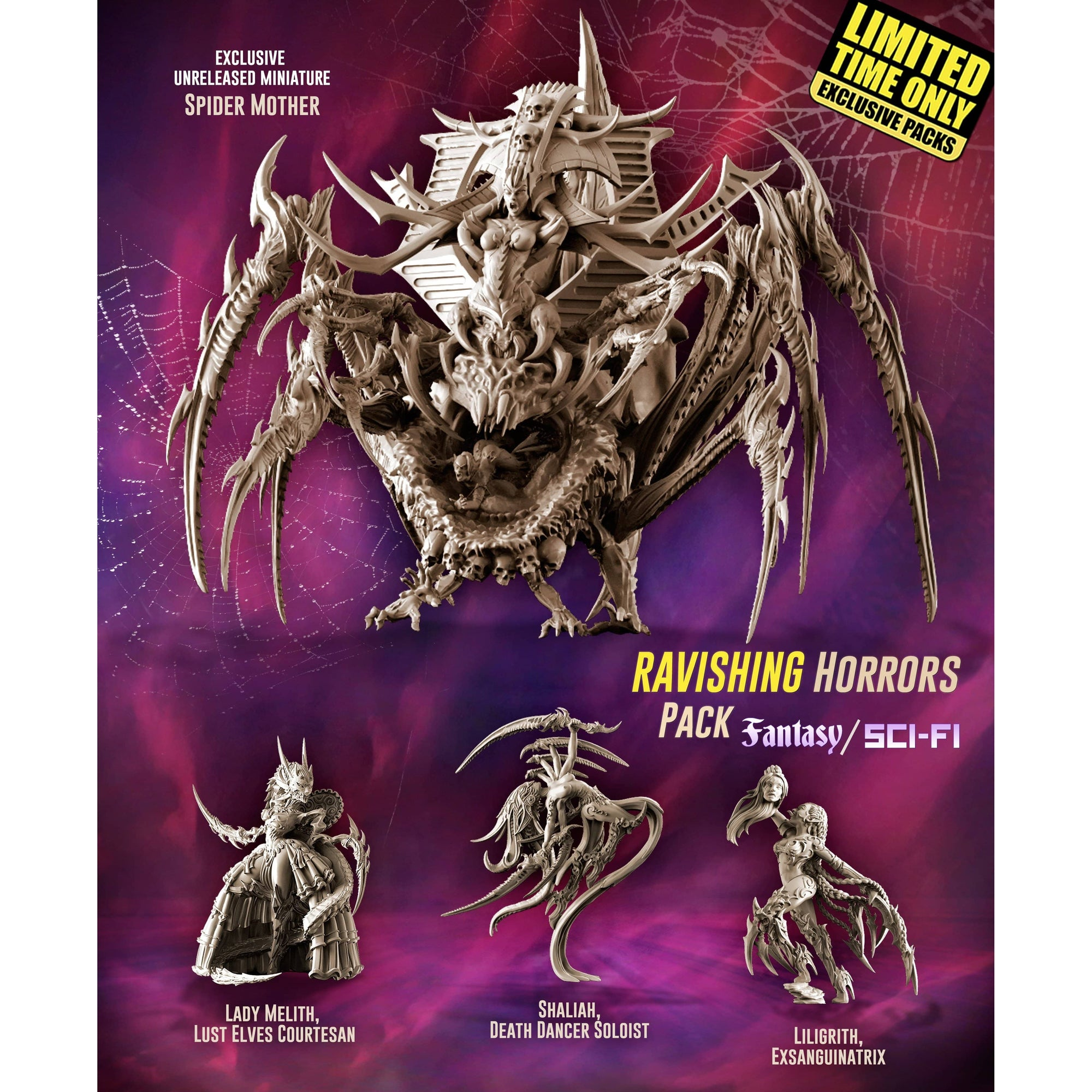 Exclusive RAVISHING Horrors Pack (LE - FSF) - Raging Heroes