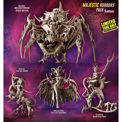 Exclusive MAJESTIC Horrors Pack (LE - FANTASY) - Raging Heroes