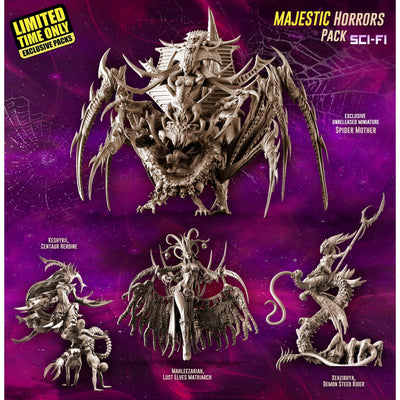 Exclusive MAJESTIC Horrors Pack (LE - SCI-FI) - Raging Heroes