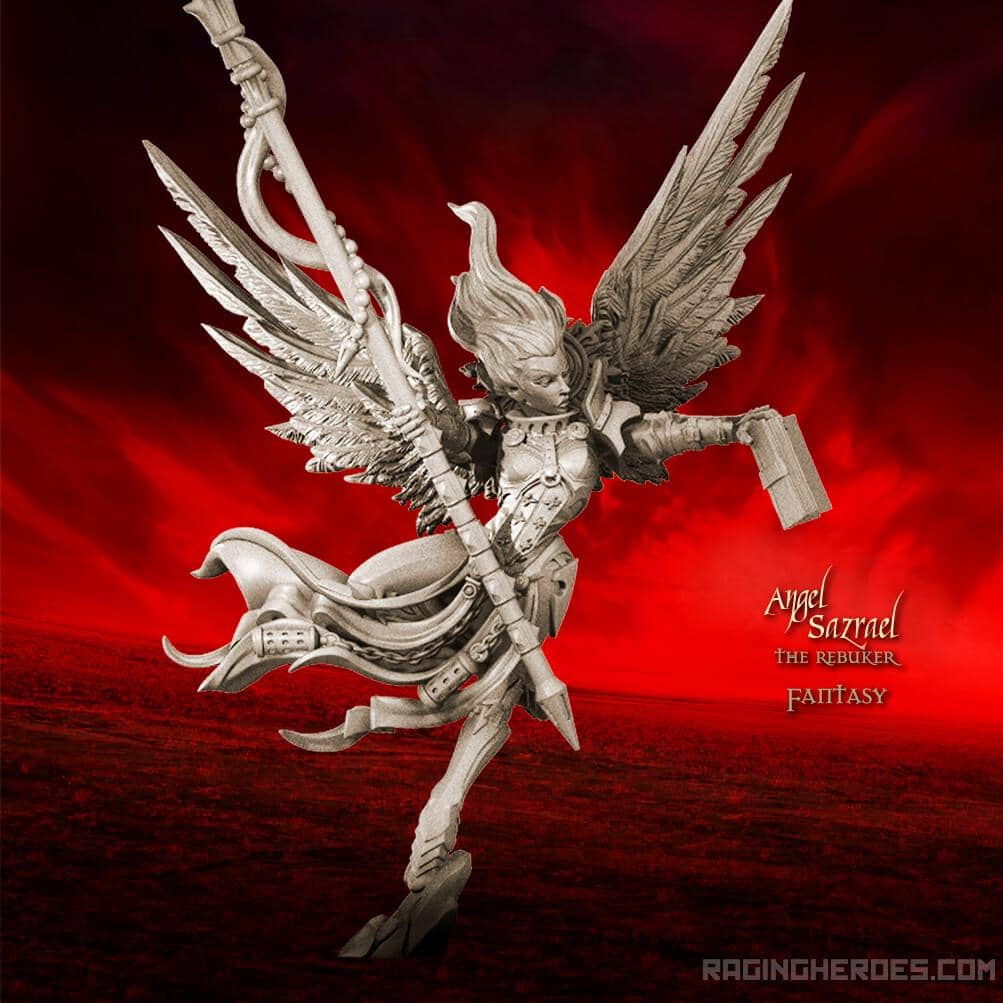 Angel Sazrael the Rebuker TR (SoTO – F) - Raging Heroes