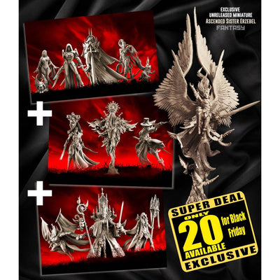 EXCLUSIVE Sisters FANTASY multipack with Erzebel - Raging Heroes