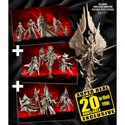 Exclusive Sisters SCI-FI multipack with Erzebel - Raging Heroes