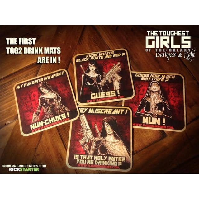Coasters/Drink Mats TGG2 - Daughters of the Crucible Edition! - Raging Heroes
