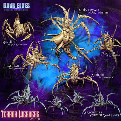 Terror Weavers Packs (DE - F) - Raging Heroes