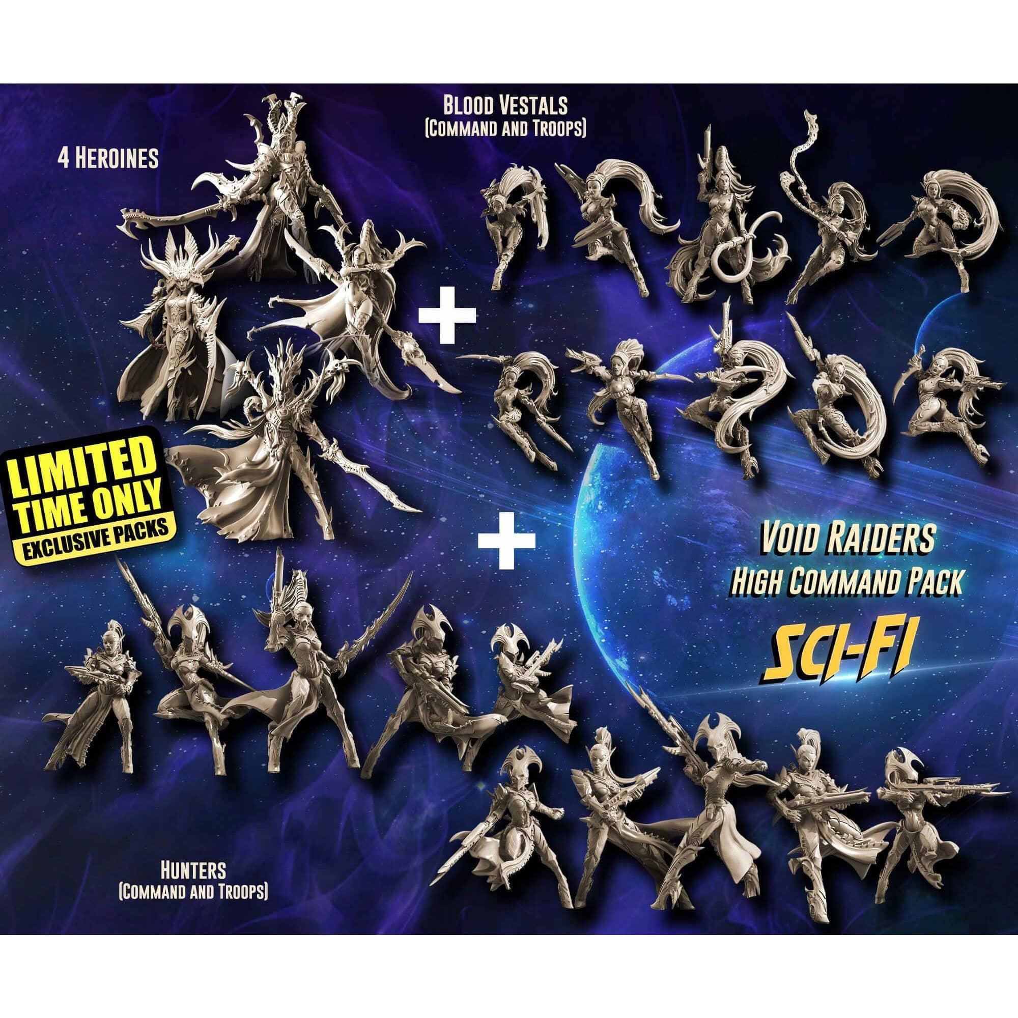 EXCLUSIVE Void Raiders High Command Pack (VE - SF) - Raging Heroes