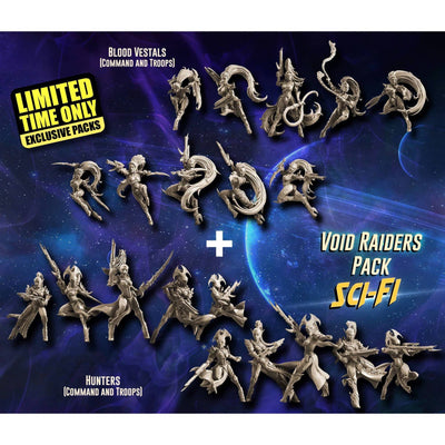 EXCLUSIVE Void Raiders Pack (VE - SF) - Raging Heroes